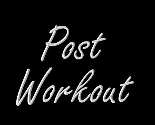 Rebuild Post Workout