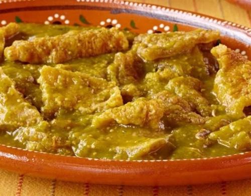 Burrito Chicharron / Green Chile Chicharron