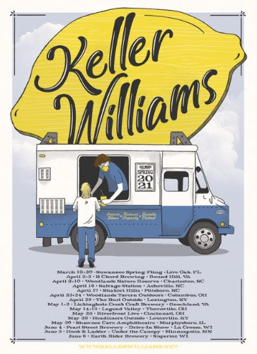 Signed Lemonade Tour Poster