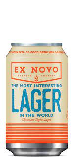 Ex Novo - The Most Interesting Lager In The World