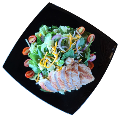 House Salad with Chiken