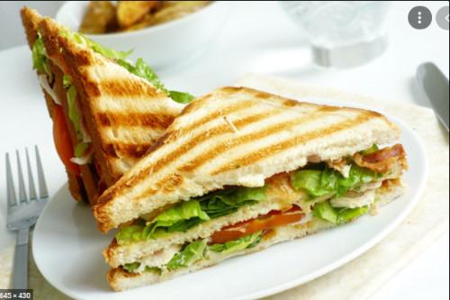 Grilled Sliced Pork Sandwich