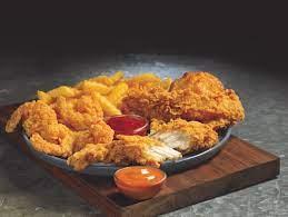Tender and Shrimp Dinner